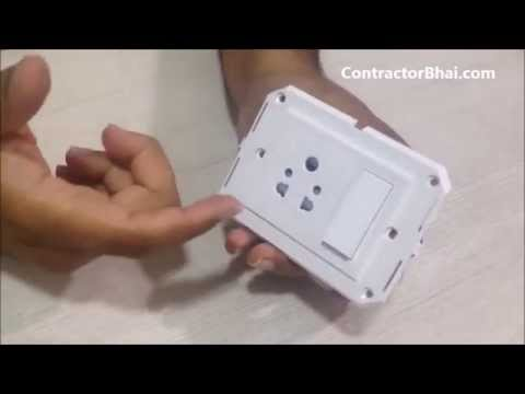 Modular Switches for Home Electrical wiring\