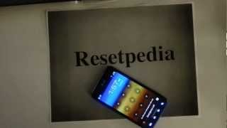 Samsung Galaxy S2 SII Att: HARD RESET Password Removal Factory Restore Guide
