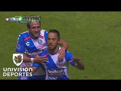¿En serio penal? Torres cobró a lo 'Panenka' para el 2-1 del Puebla