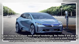 Buick Velite 6 hybrid and EV models headed for China