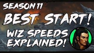 Diablo 3 2.6 Season 11 Best Start!  Wiz Speeds Explained!
