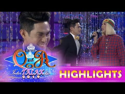 """It's Showtime Miss Q & A: Vice Ganda teaches Ion how to chacha and """"shiggy"""""""