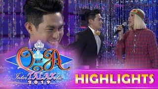 It's Showtime Miss Q & A: Vice Ganda teaches Ion how to chacha and