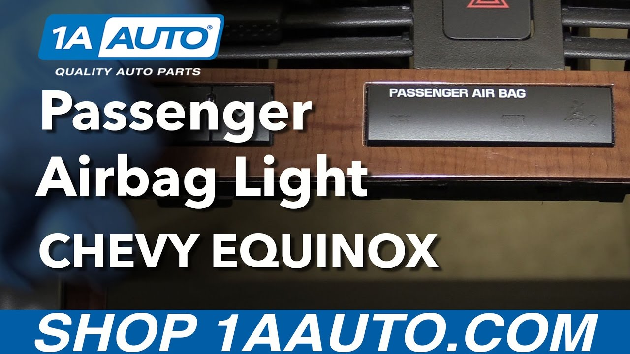 How To Install Replace Passenger Airbag Indicator Light 2008 Chevy 2012 Traverse Fuse Box Removal Equinox