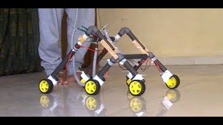 How to Make Rocker Bogie Easily at Home।। DPDT Controlled
