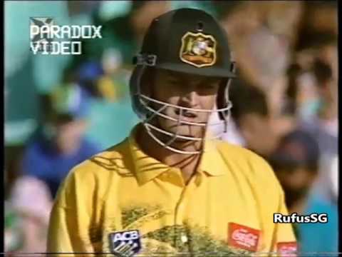 South Africa vs Australia 4th ODI 1997 - rare full match highlights