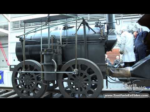 Retromobile 2013 : Locomotive à Vapeur 1829 Marc Seguin (Full HD)