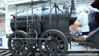 Retromobile 2013 : Locomotive à Vapeur 1829 Marc Seguin (Full HD)