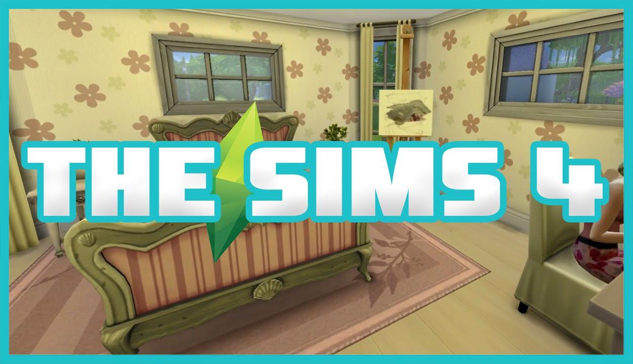 The sims 4   speed build #6   sovrum till en tonårstjej! (swedish ...