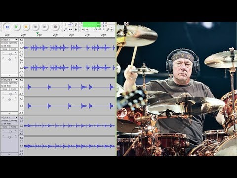 RUSH - The Spirit of Radio (Live) - drums only. Isolated drum track.
