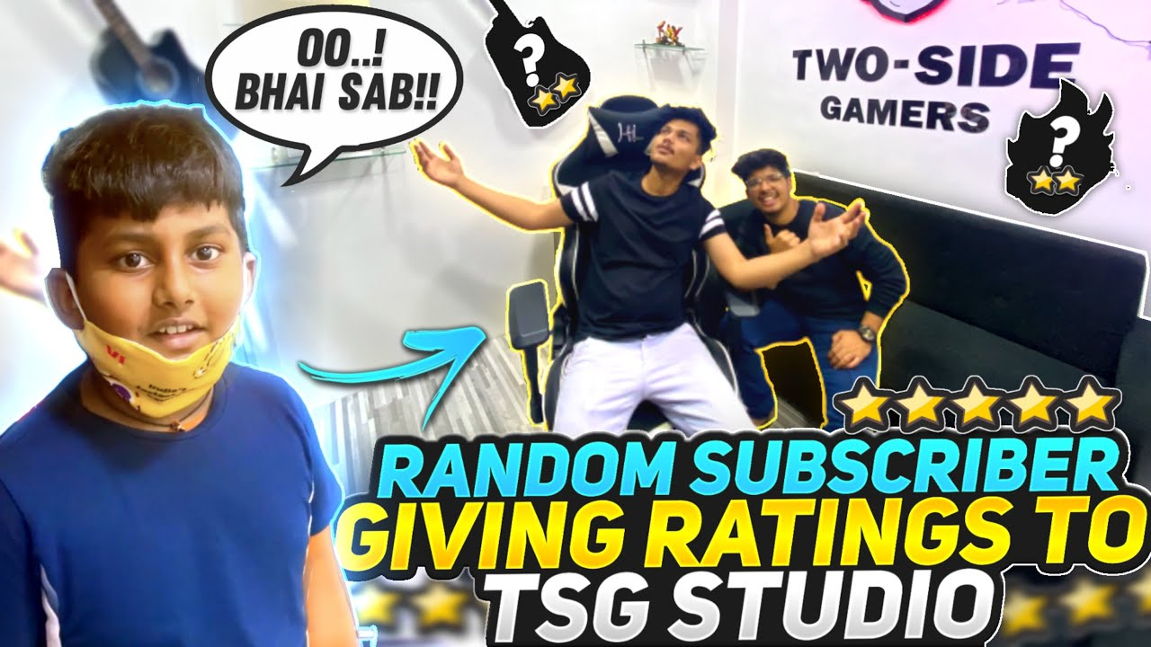 Random 12 Years Old Subscribers Giving Ratings To Two Side Gamers Studio    Crying Reaction 🥺