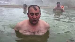 Soğuk Havada, Sıcak Su İle...