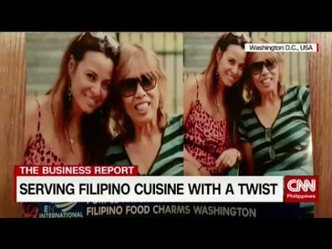 Serving Filipino cuisine with a twist: Familiar taste to immigrants in strange Lands