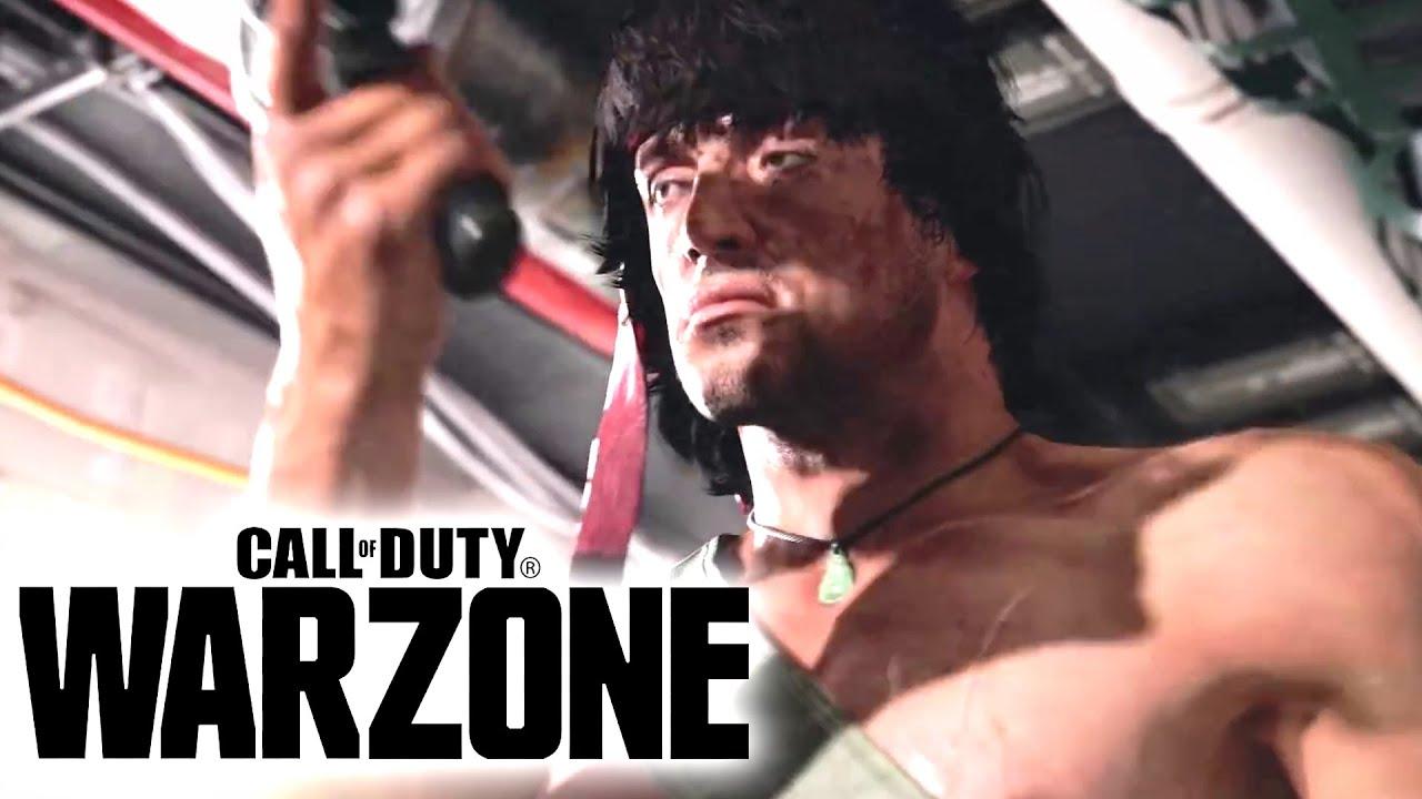 Call of Duty Black Ops Cold War & Warzone : JOHN RAMBO TRAILER OFFICIEL