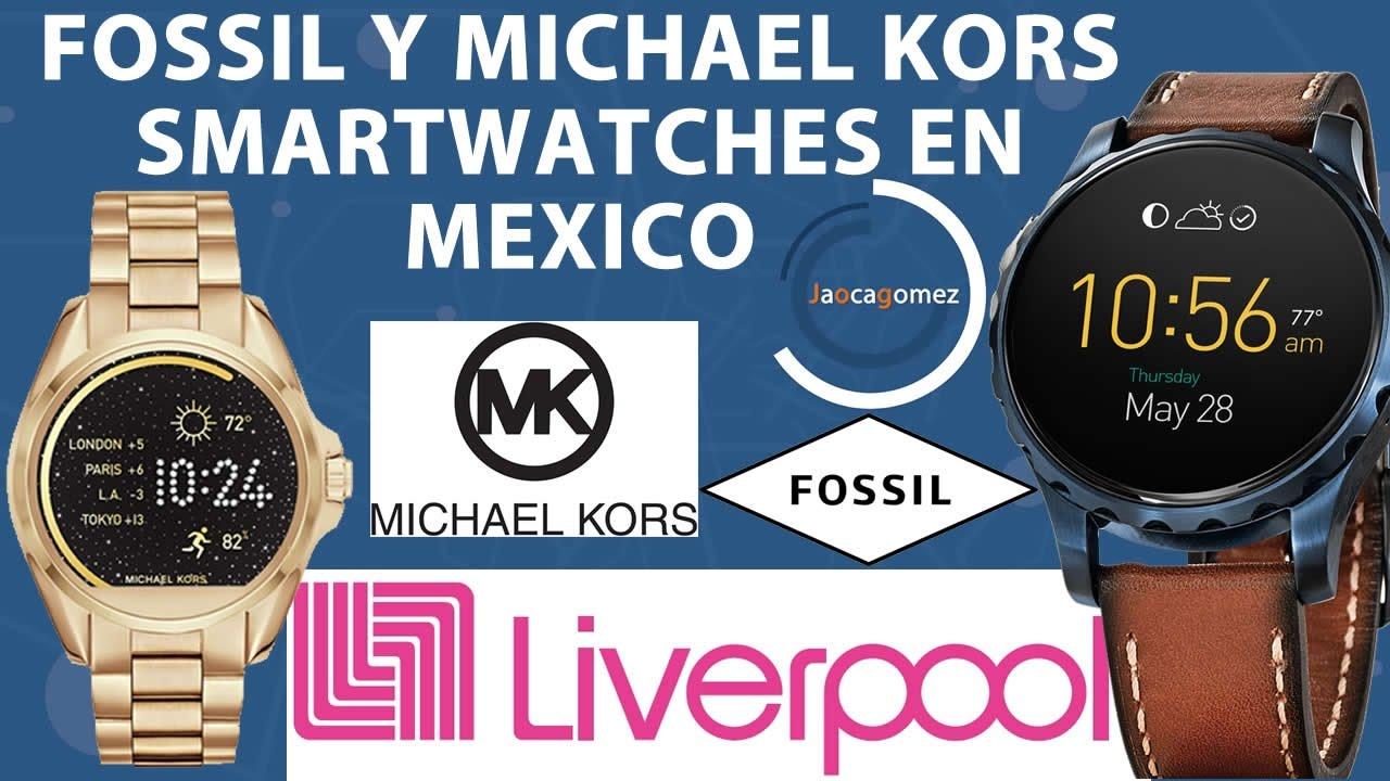 c763c4da99bb Smartwatches Fossil   Michael Kors en Mexico