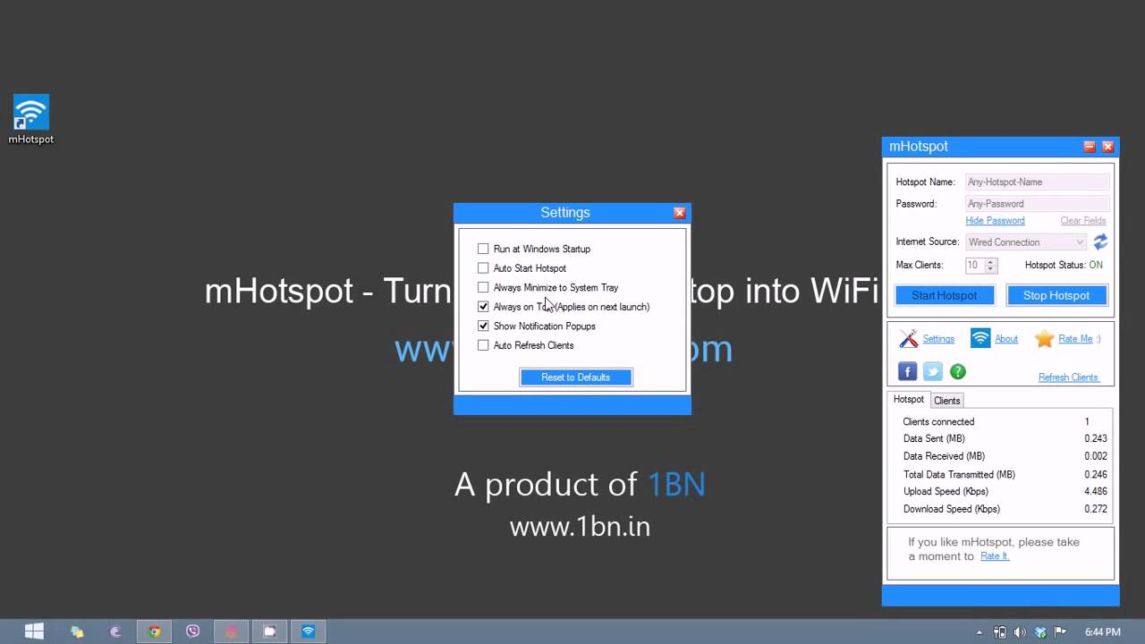 Mhotspot version 7 4 free