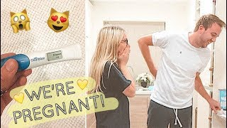 FINDING OUT WE'RE PREGNANT (TOGETHER)! | CHRIS & EVE