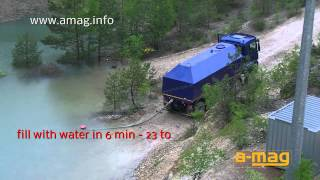 amag water truck with 23 m³ capacity - MAN TGS 41.480 - 8x8