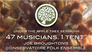 47 Musicians, 1 Tent. Joe Broughton's Conservatoire Folk Ensemble | UNDER THE APPLE TREE