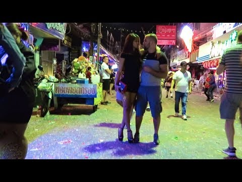 Pattaya New Years Eve 2018 – Walking Street after midnight…