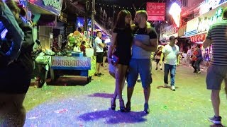 Pattaya New Years Eve 2018 - Walking Street after midnight...