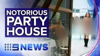 Gambar cover Residents want wild party house shut down | Nine News Australia