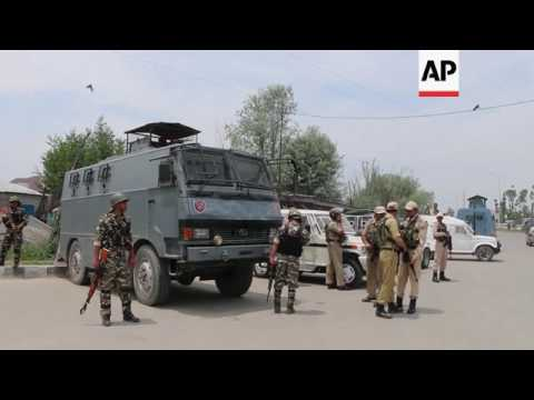 Kashmiri villagers rise up at sight of troops