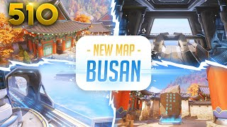 Busan Reveal!! (NEW MAP!) | Overwatch Daily Moments Ep.510 (Funny and Random Moments)