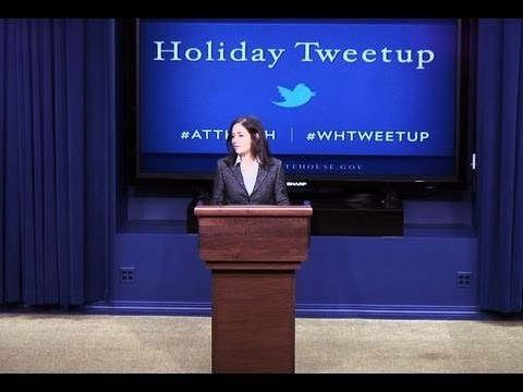 Holiday Tweetup at the White House: Part 1