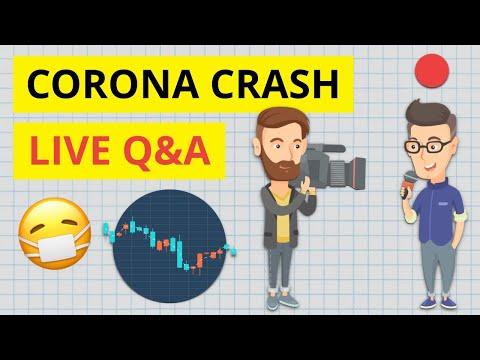 Corona Krise an der Börse - Wie richtig handeln?! Live Q&A