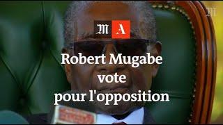 A la présidentielle zimbabwéenne, Robert Mugabe vote… pour l'opposition