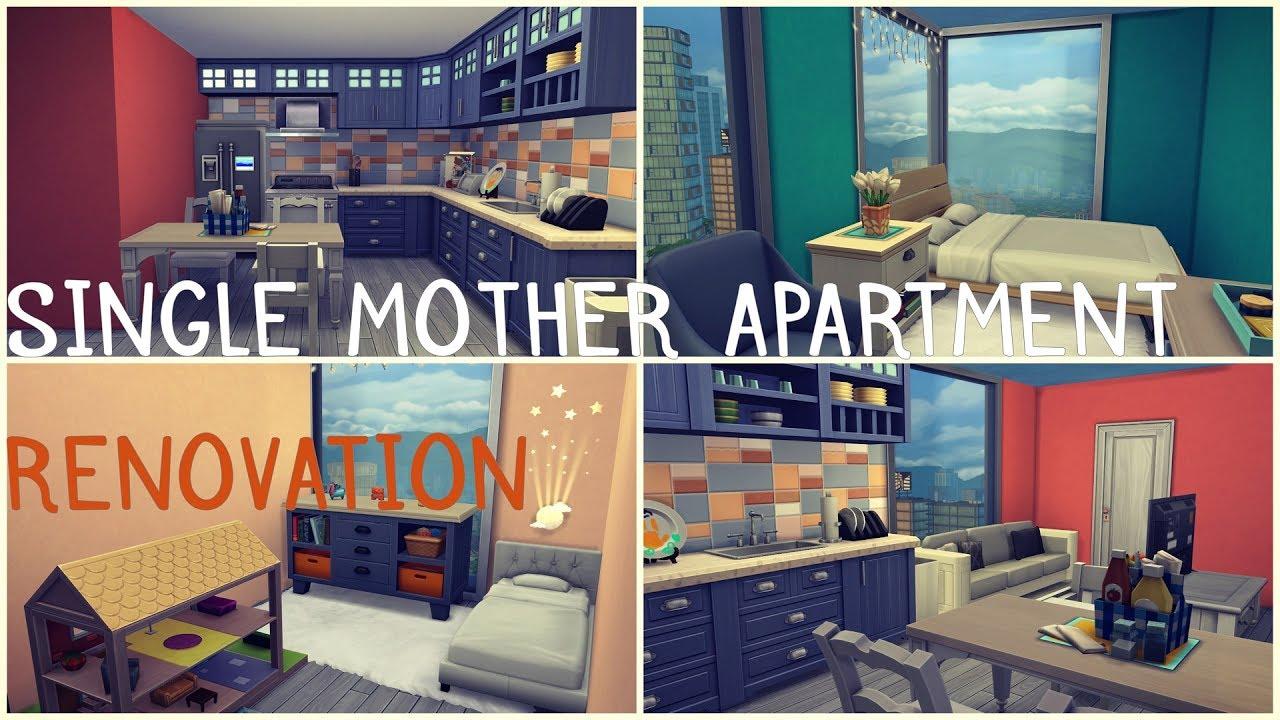 Ts4 Apartment Renovation Single Mom