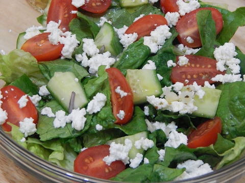 Healthy Salad Recipes L Easy Green Garden Salad L How To Make Salad