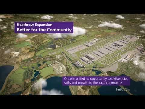 Heathrow third runway CGI - Taking Britain Further