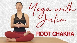 Healthy, Empowered & Balanced | Hip Mobility Yoga for the Root Chakra, 20 Minute Yoga Beginners