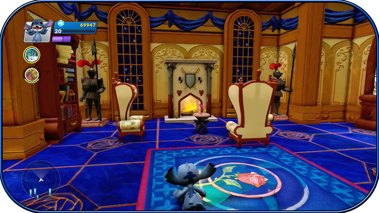 Beauty and the beast belles bedroom - Disney Infinity 2 0 Beauty And The Beast Room Interiors Ep