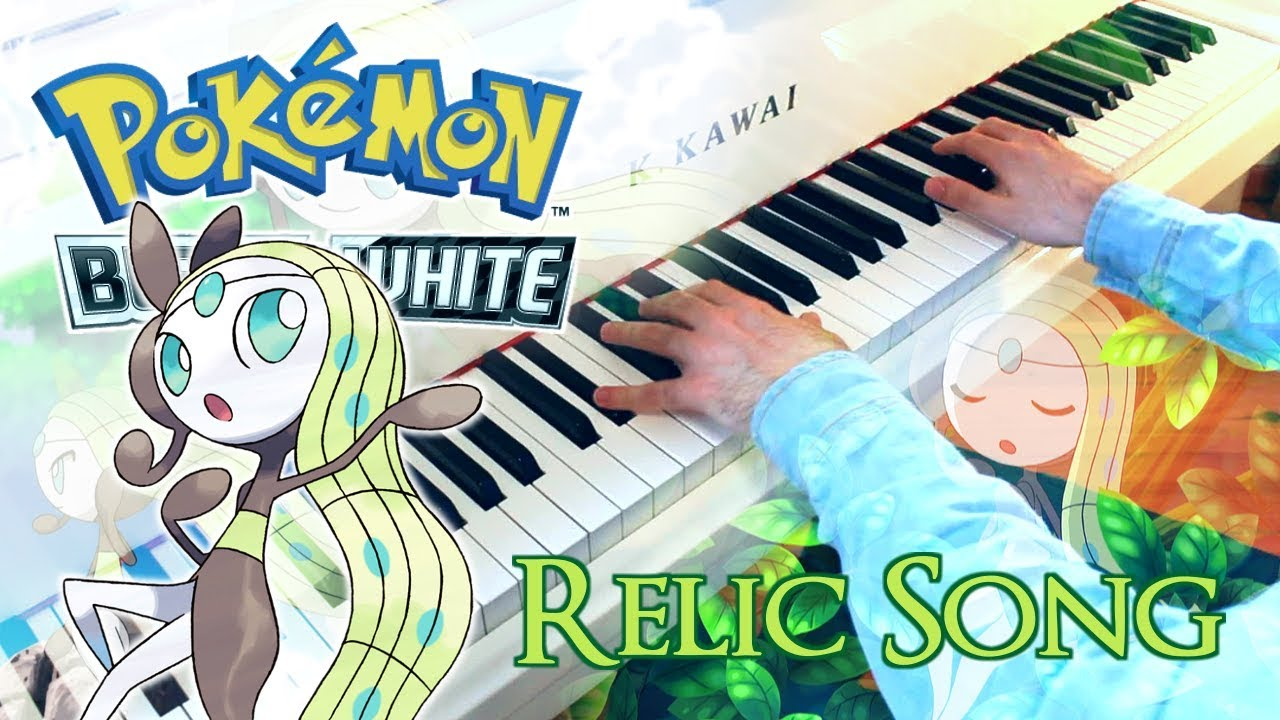 🎵 Meloetta's Relic Song (Pokémon Black & White) ~ Piano cover w/ sheet  music!
