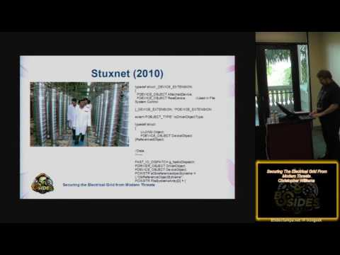 301 Securing The Electrical Grid From Modern Threats Christopher Williams