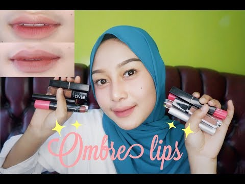 tutorial-ombre-lips-simple-ala-mutia-anjani💄-||-3-look-lips-gradient