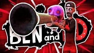 SHOTGUN BATTLE! - BEN & ED BLOOD PARTY PARKOUR