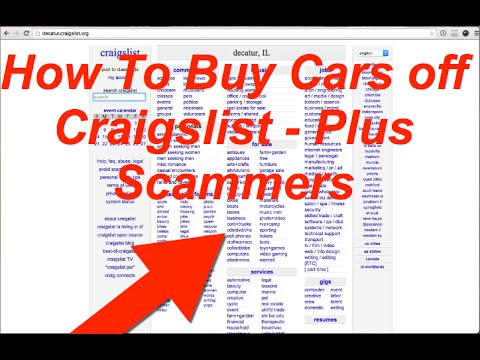 How To Buy and Sell Cars for Profit on Craigslist - Plus How To Spot SCAMS