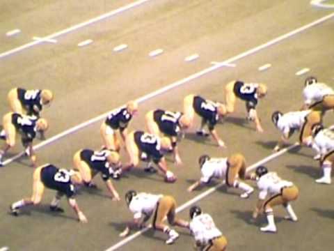 Vanderbilt Football 1974 Game 01 UT Chattanooga Part 2 of ...