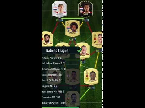 Pacybits 20 Nelson Semedo Nations League Sbc Youtube