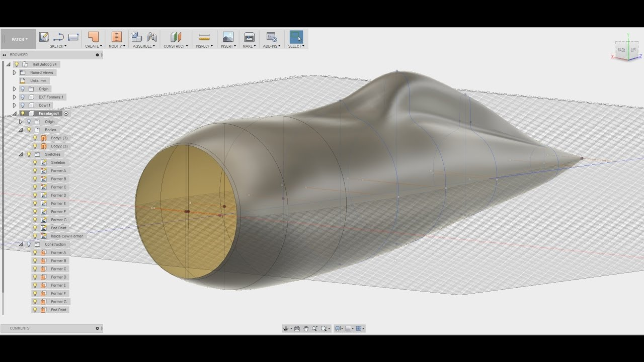 Designing a Hall Bulldog in Fusion 360 for 3D Printing