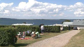 Bøjden Strand Camping  (Sommerkaravanen 2014)