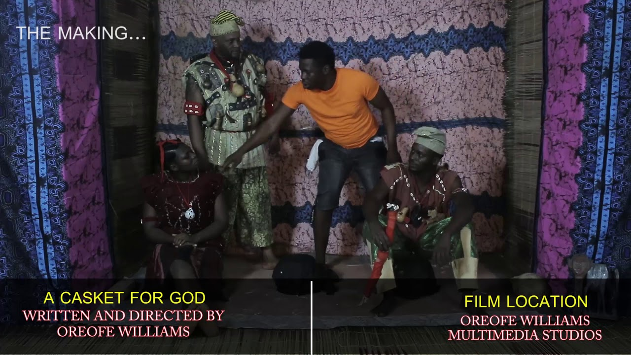 Download A CASKET FOR GOD: WATCH BEHIND-THE-SCENES MOMENTS