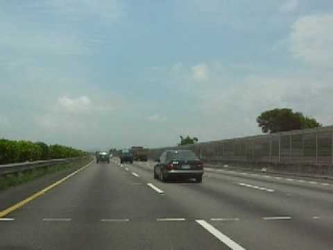Snapshot of A Drive From Taichung City to Miaoli