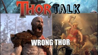What God of War got WRONG about Thor