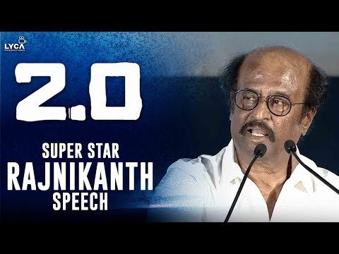 Rajnikanth Speech at 2.0 Trailer Launch | Shankar | Akshay Kumar | Lyca Productions