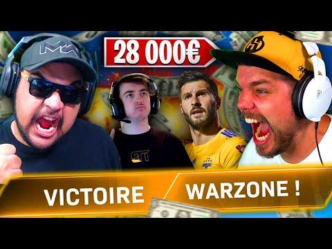 GAGNER 28.000€ sur WARZONE ! (TOURNOI LORDS OF WARZONE ft SkyRRoZ, Gignac & Spartan)